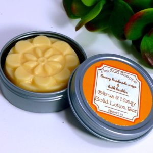 Citrus & Honey Solid Lotion Bar