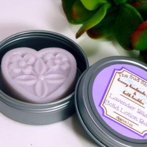 Lavender Bliss Solid Lotion Bar