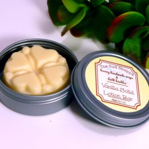 Vanilla Solid Lotion Bar