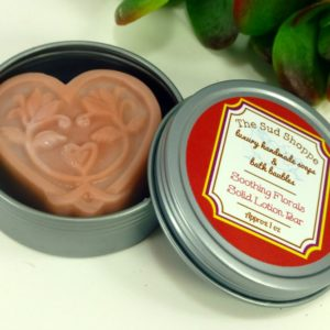 Soothing Florals Solid Lotion Bar