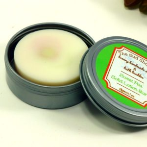 Sweet Pea Solid Lotion Bar