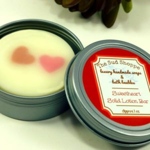 Sweetheart Solid Lotion Bar